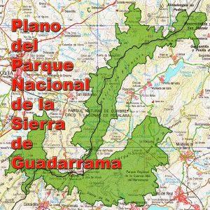 Plano del Parque Nacional